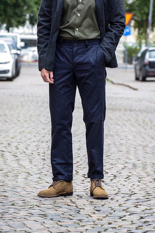 Autumn Navy Chinos