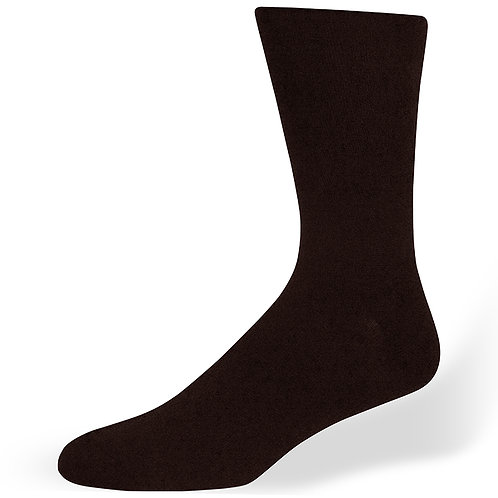 Di Carlo Black Sock