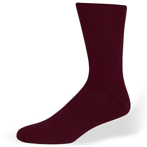 Di Carlo Burgundy Sock