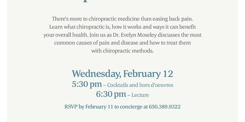 Introduction to Chiropractic Wellness