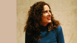 Maja Hermann in der Orpheus-Probe