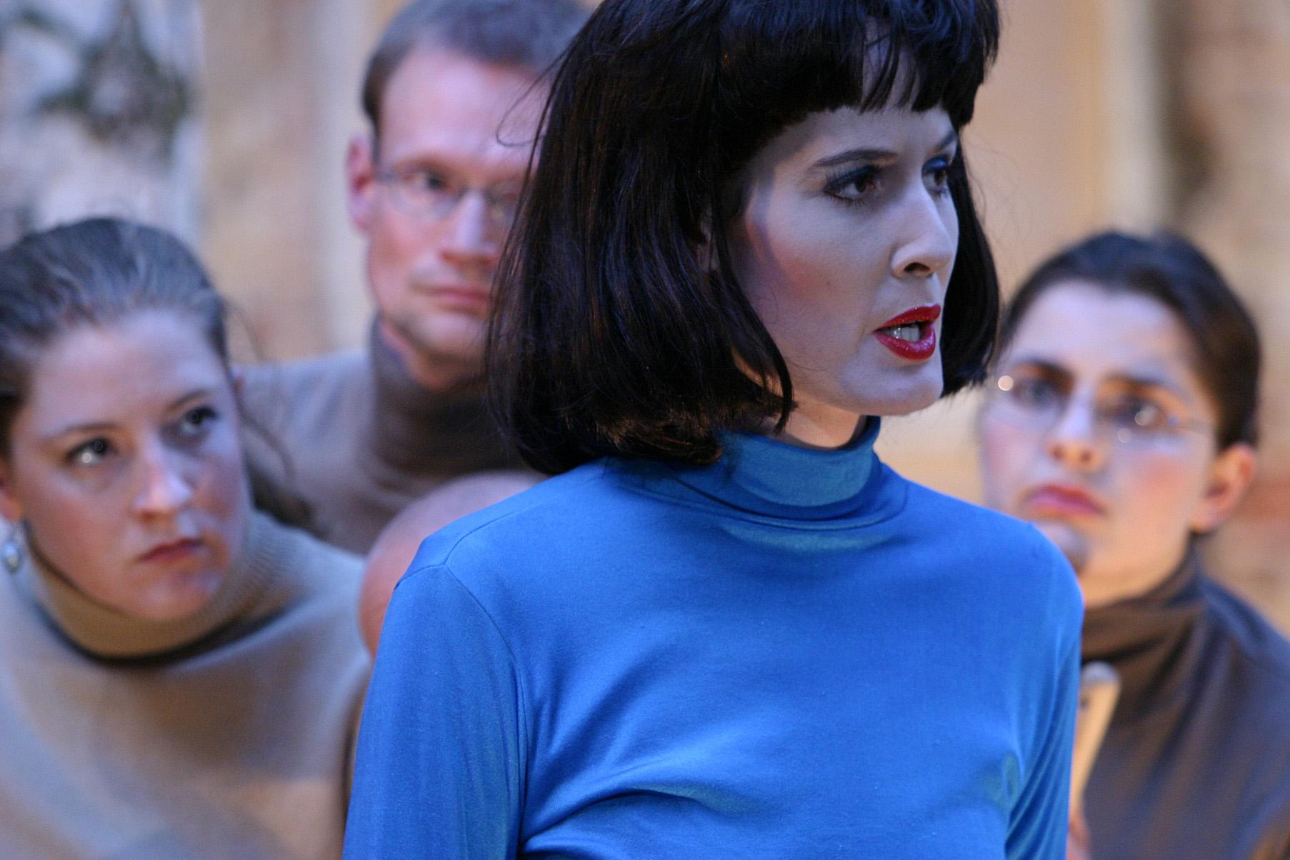 Maja Hermann als Orpheus