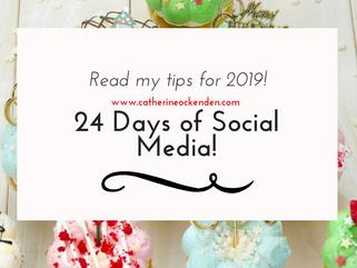 24 Days of Social Media 2019
