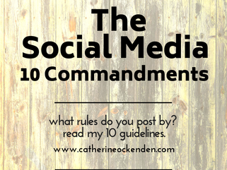 10 Commandments of Social Media
