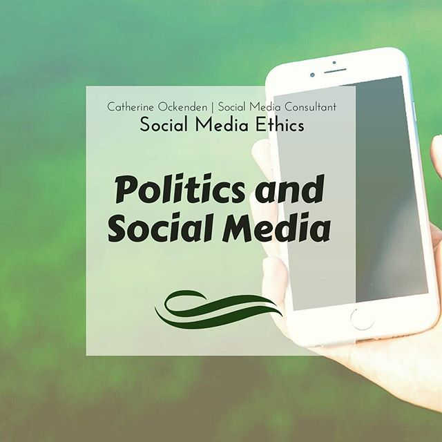 Social media, small businesses and brands.... and politics