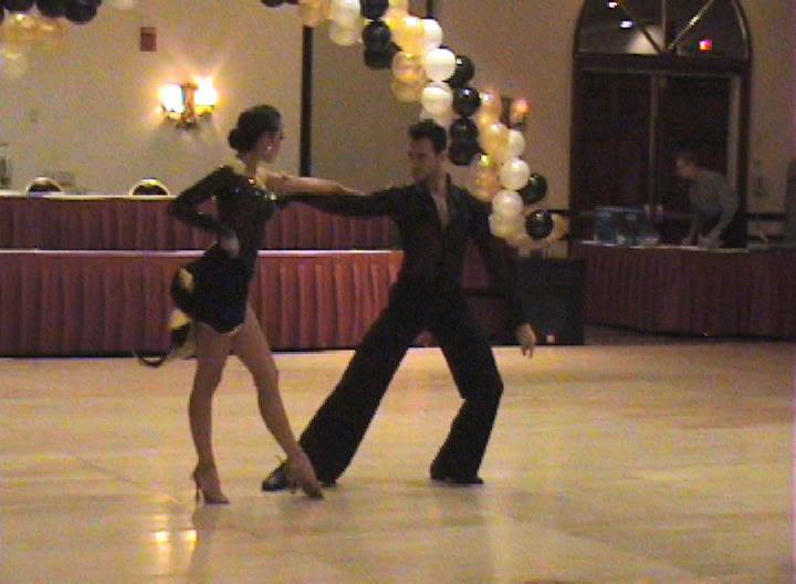 Prima Dancesport performs a Rumba