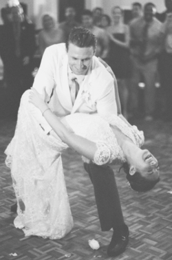 Prima Dancesport Wedding Couple