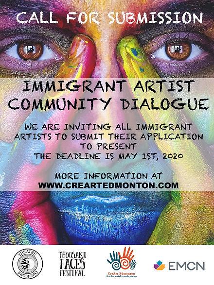 Immigrant Artist Community Dialogue .jpg