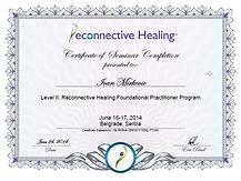 Reconnective Healing™ Sertifikat