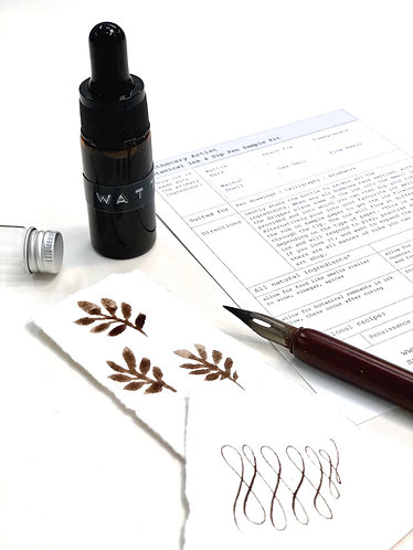 Botanical Ink Kit - Wattle Bark