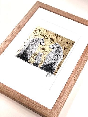 A4 Frame: A5 Art