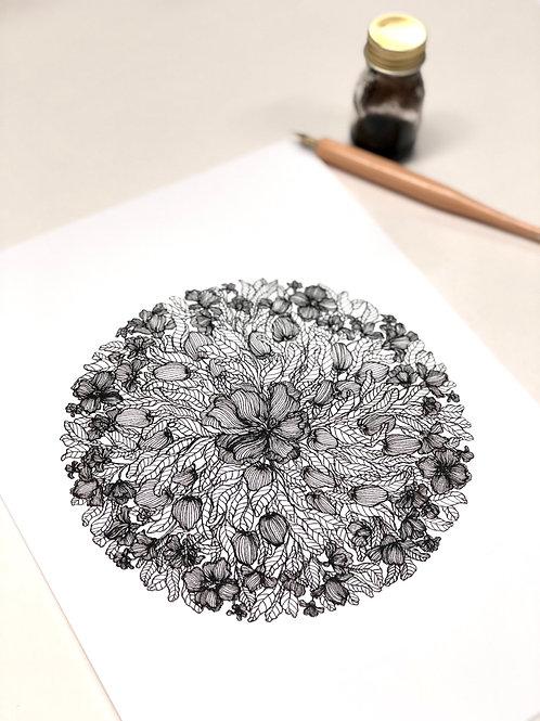 A4 Abundant Flowers