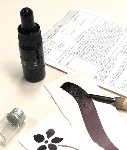 Botanical Ink Kit - Oak Gall