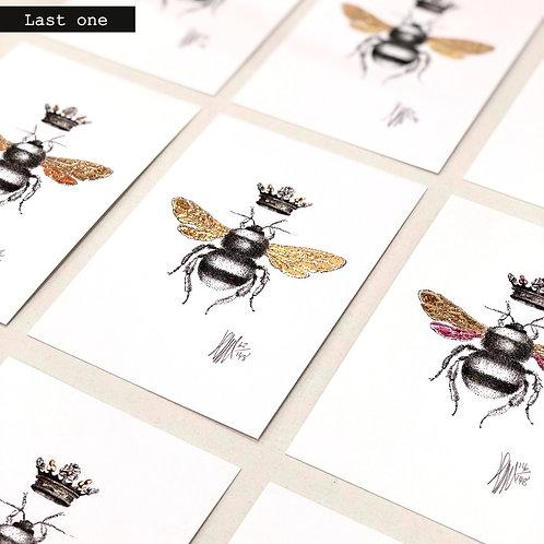 Bee Portrait A6 A4