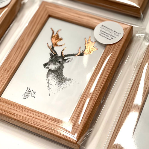A6 Framed Stag