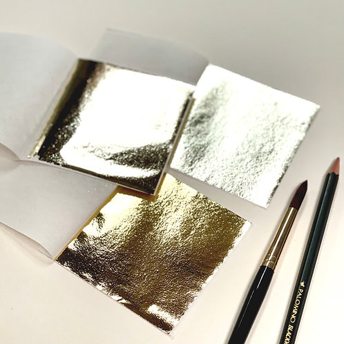 High Lustre Gold-Leaf x 6