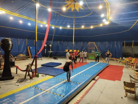 O Centro Cultural Circo Os Kaco se renova com Prêmio FUNARTE de Estímulo ao Circo