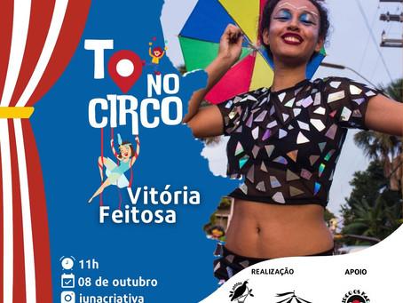 Kadu Oliviê, Vitória Feitosa e Xiko encerram as séries de Live TO no Circo