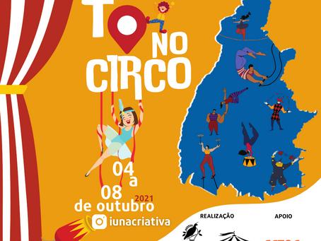 Iuna Criativa apresenta série de Lives TO no Circo