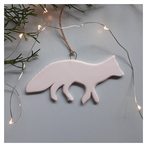 White Arctic Fox - MADE TO ORDER