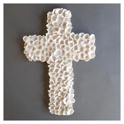 Large Ruffled Cross
