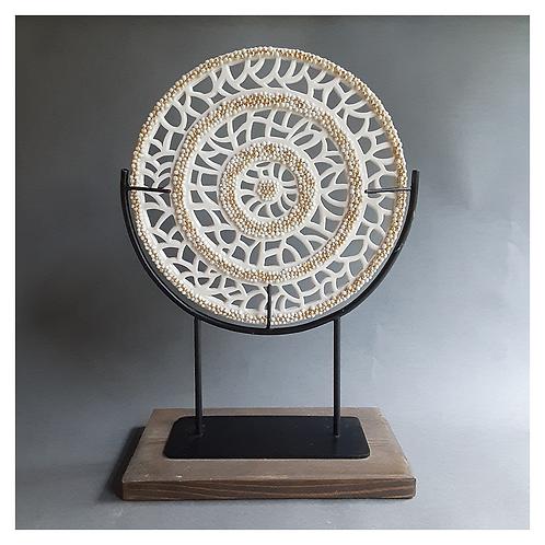 Round Lace Sculpture