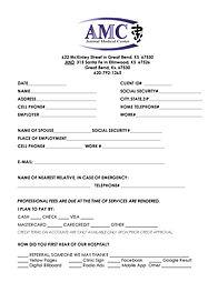 AMC New Patient Forms