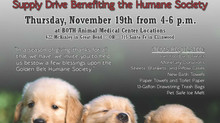 AMC to Collect 5,000 Pounds of Supplies for Humane Society