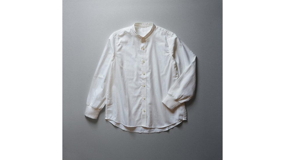 服のたね 2018 - オーガニックコットン袖リブシャツ