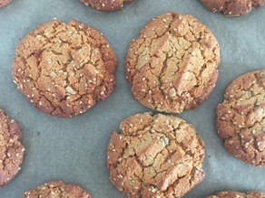Honey and seed cookies