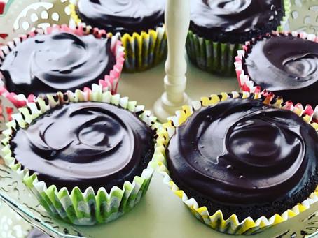 Low carb chocolate cupcakes