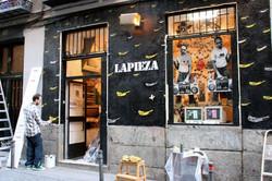 Fachada Galeria La Pieza.