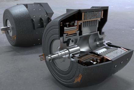 тяговый генератор паровоза