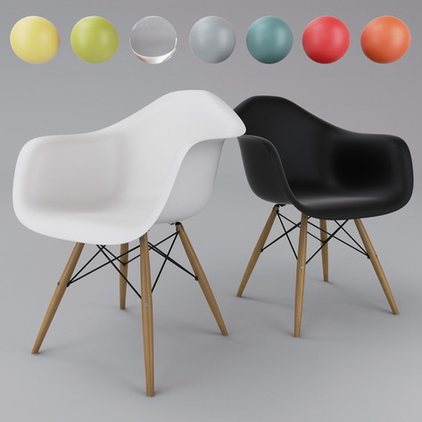 DAW chair by Eames