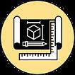 Создание комплекта рабочих чертежей на основе утвержденной 3d визуализации интерьера.