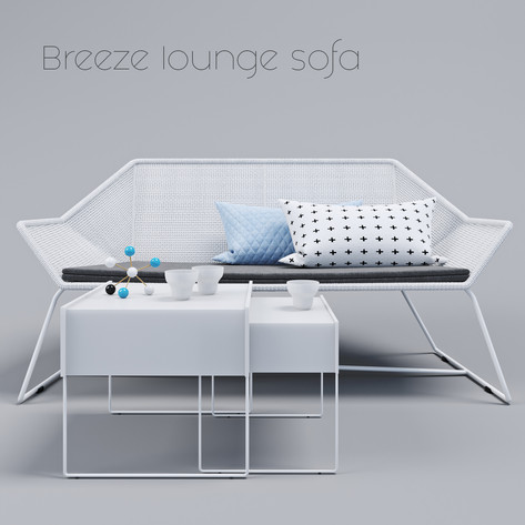 Breeze Lounge sofa by Cane-line