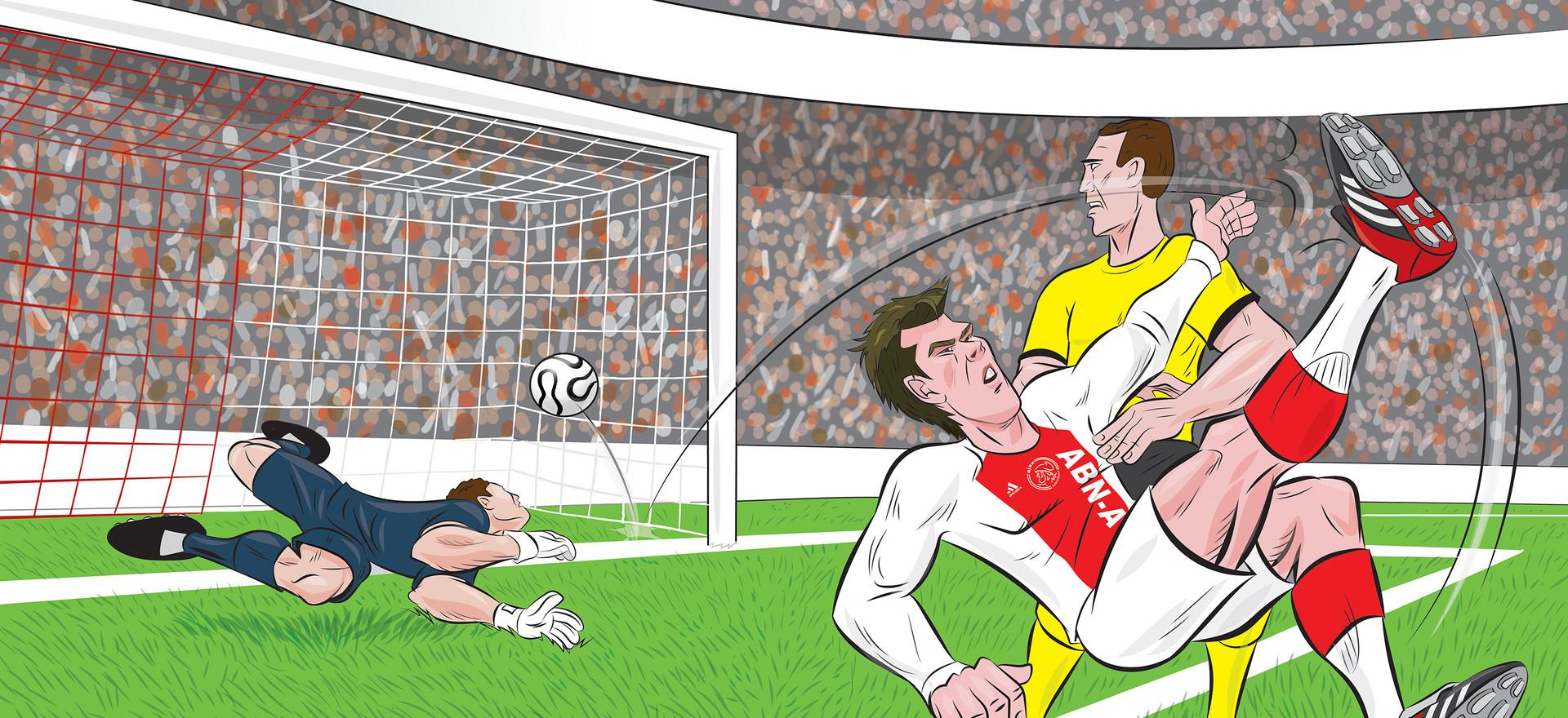 Illustration_Huntelaar Ajax Article
