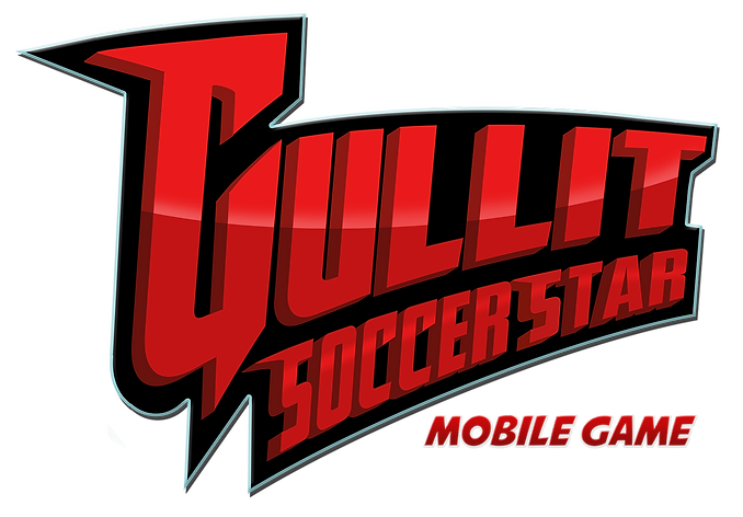 Gullit Soccerstar Game Logo