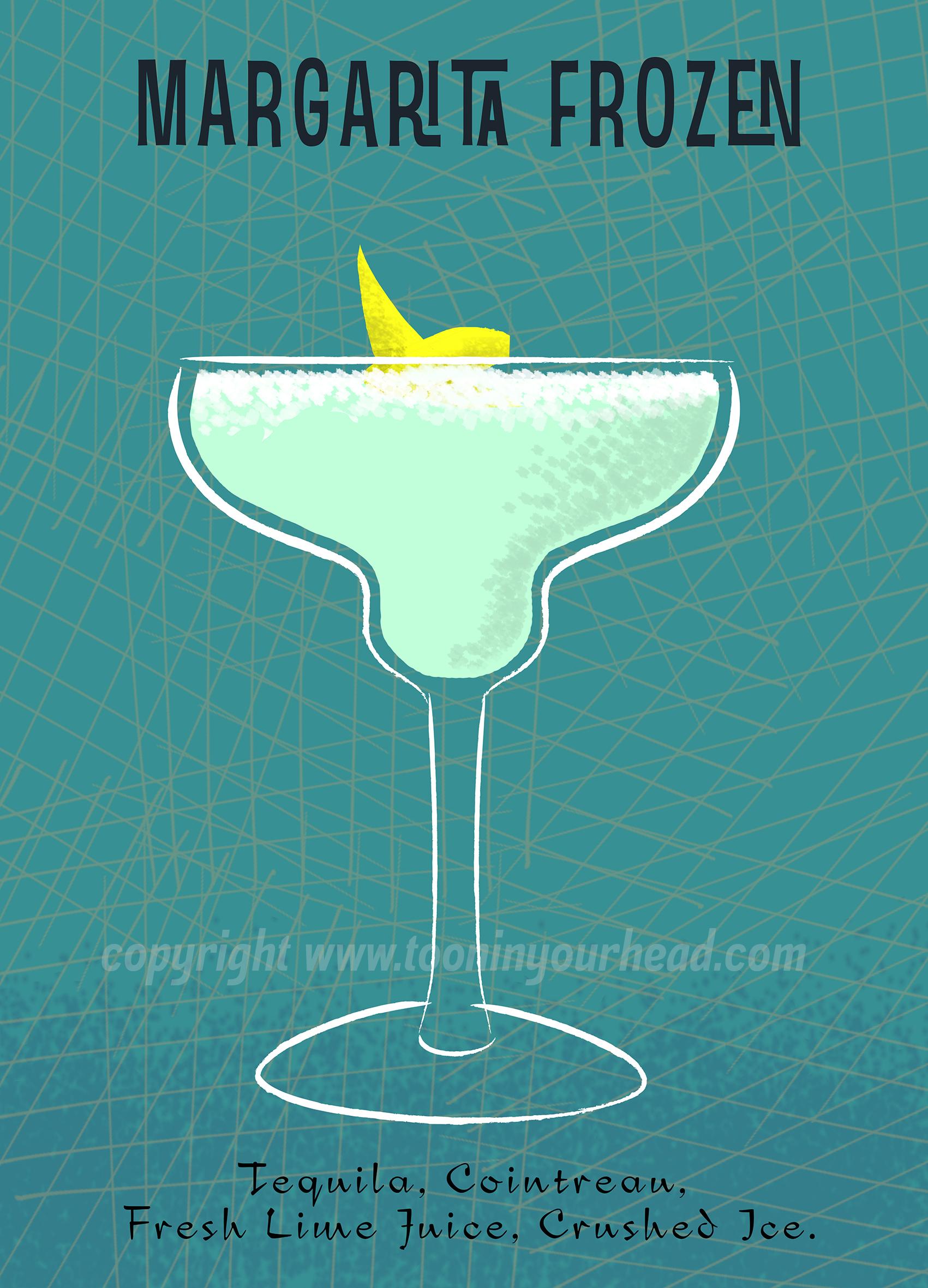 Cocktail Margarita -by Henri Gol