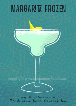 Cocktail Margarita -by Henri Gol