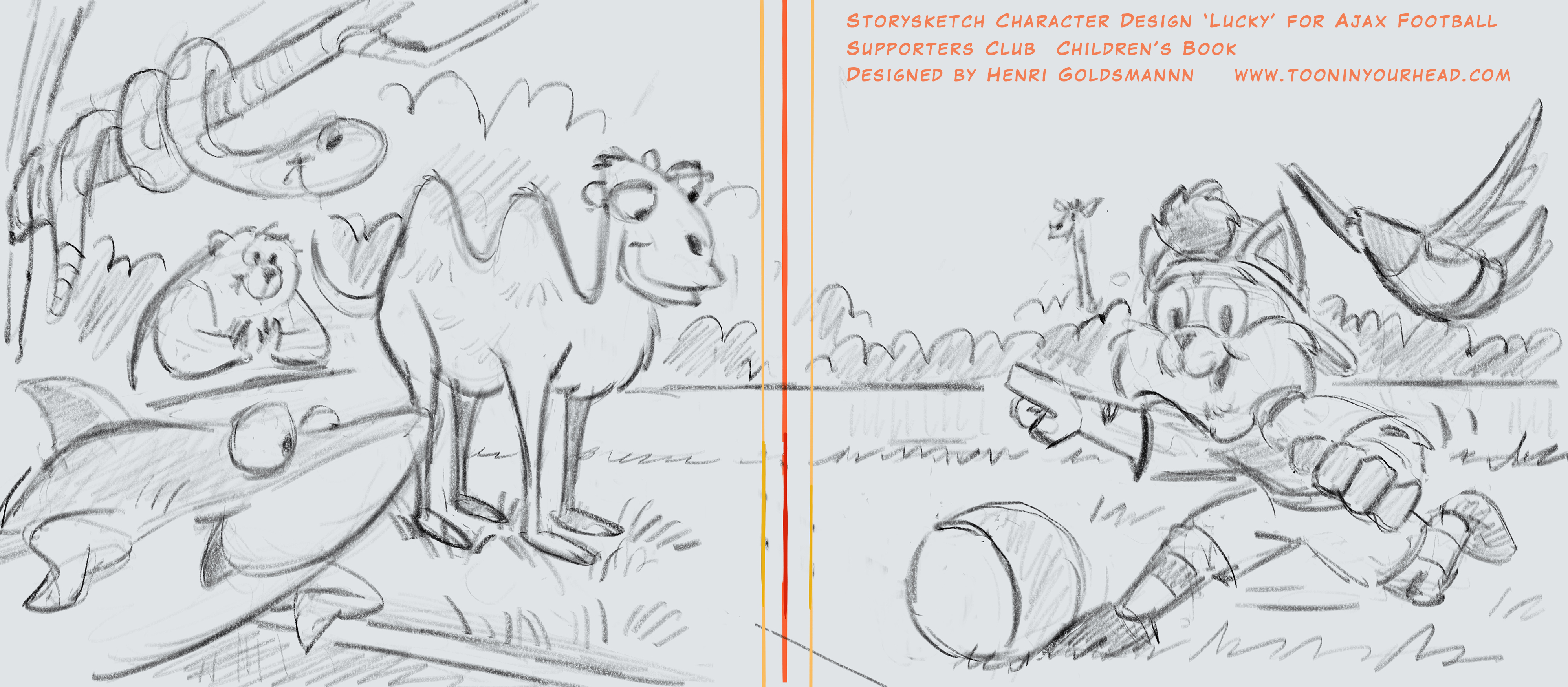 Character Design_Storyboard Sketch
