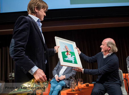 At the Museum of Picture and Sound, Producer Jef Rademakers was honoured for his total oeuvre and co