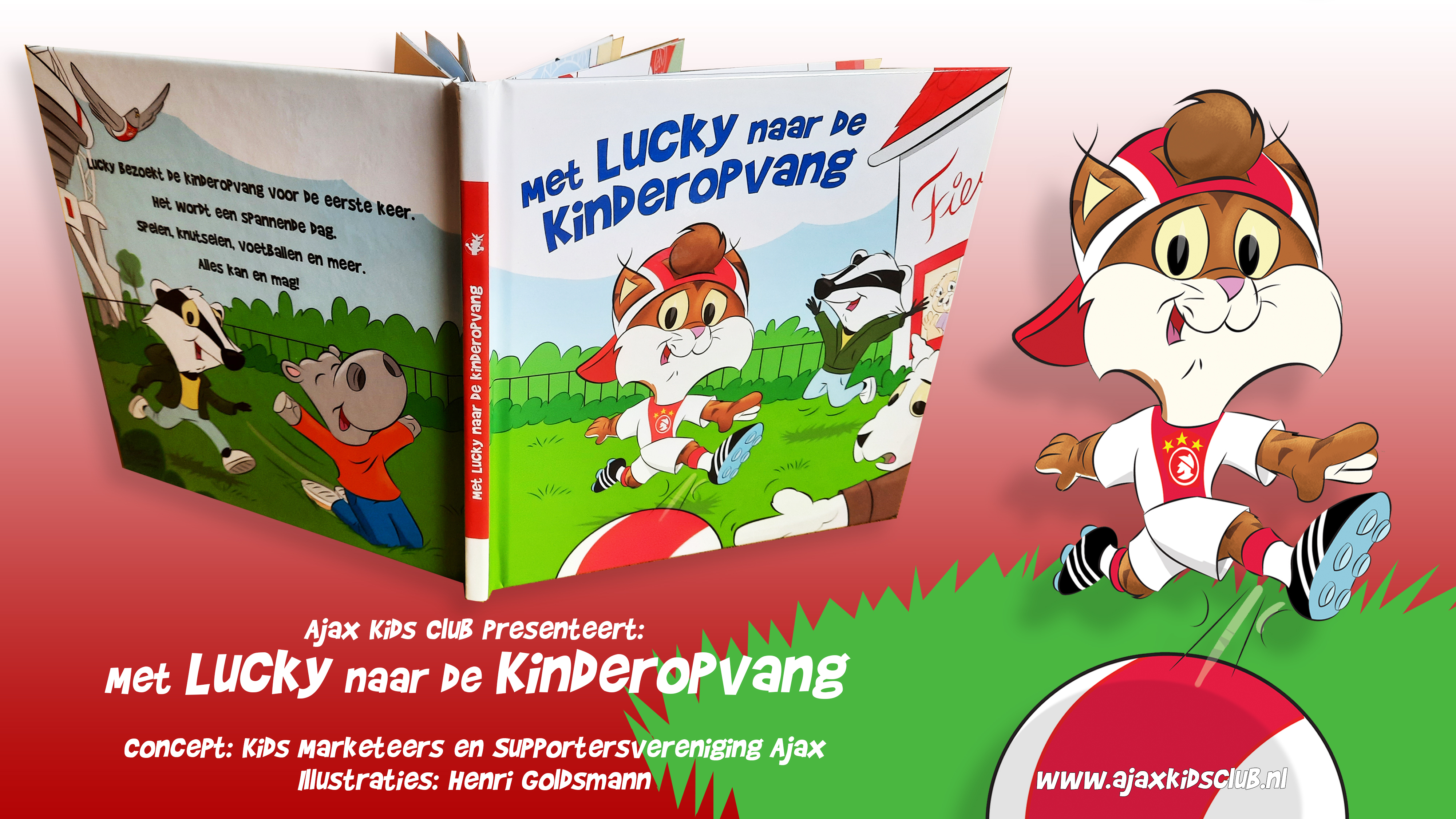 Lucky Mascotte Childrens Book