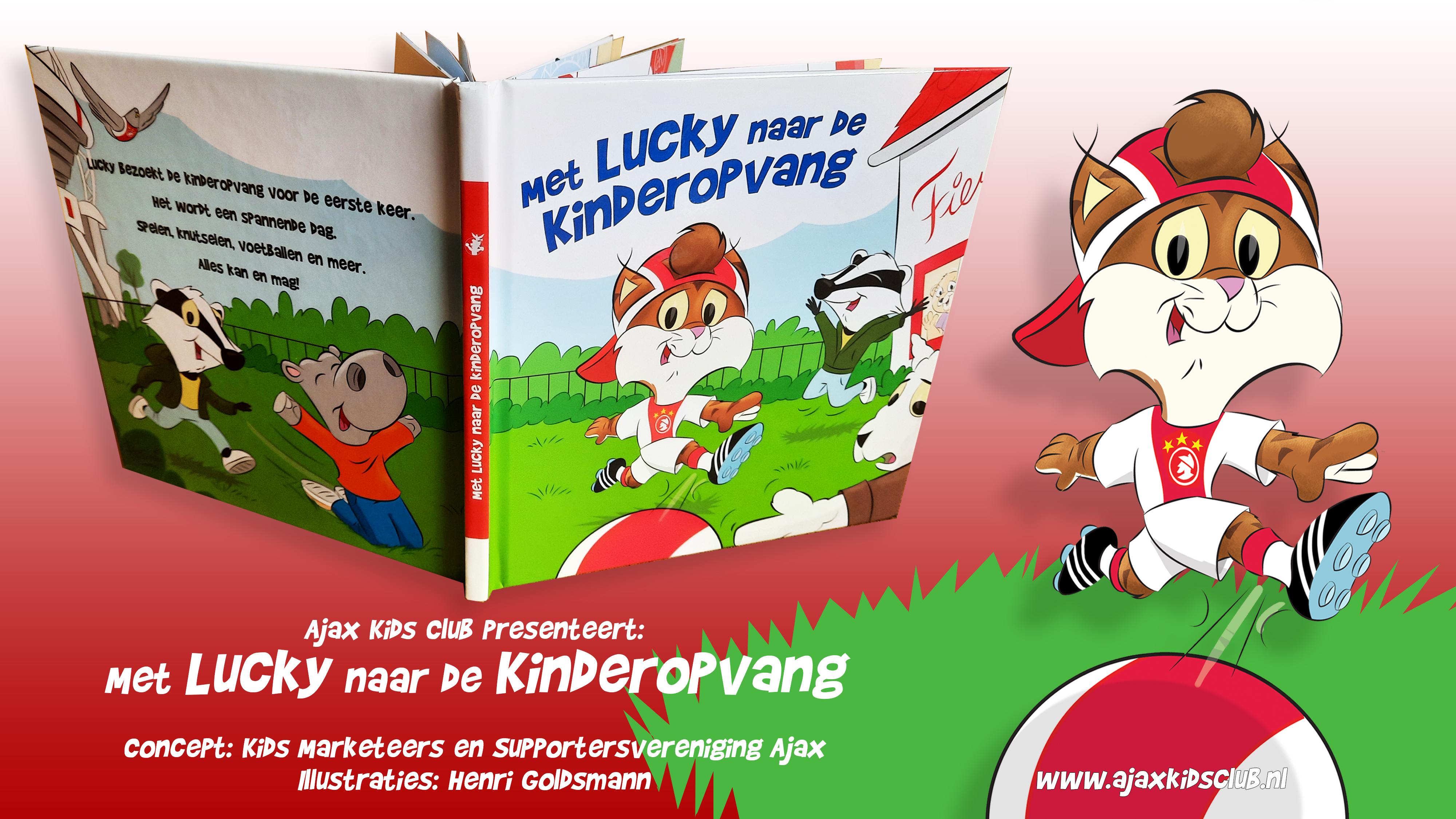 Lucky Mascotte Childrens Book
