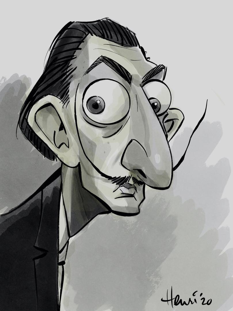 Salvador_dali_caricature_by_Henri_Goldsm