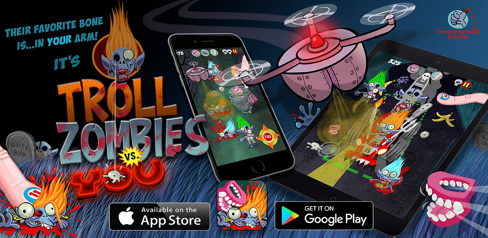 Download Troll Zombies vs You Mobile Game