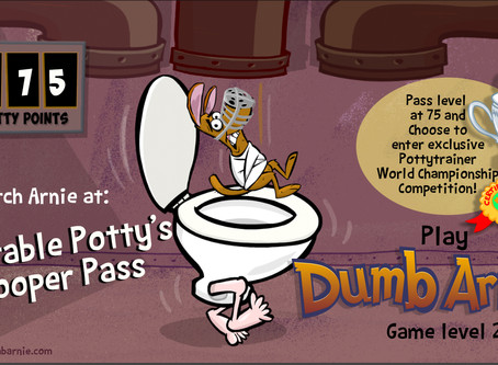 Play the new free mobile game by ToonInYourHead Studios called Dumb Dog Crazy Escape!  A crazy arcad