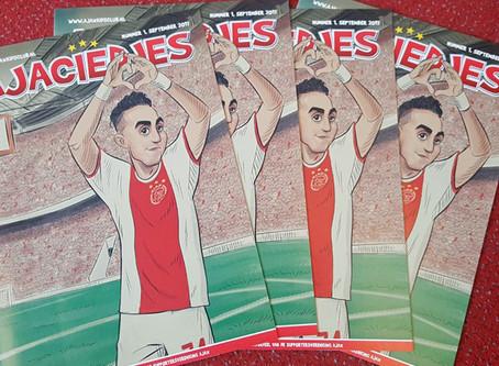 Cover illustration produced by ToonInYourHead Studios in honour of Ajax Player Abdelhak Nouri. Made
