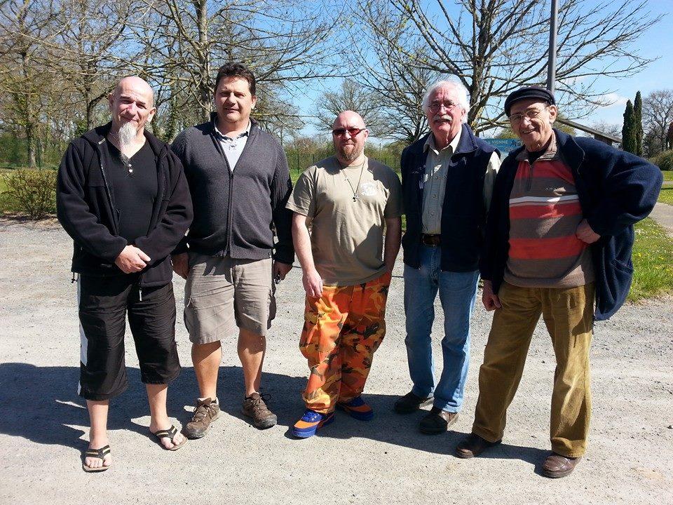 Patrik Flandroit, Fabrice Thete, David Moreau, Jean-Pierre Baron, Rafi Toumayan