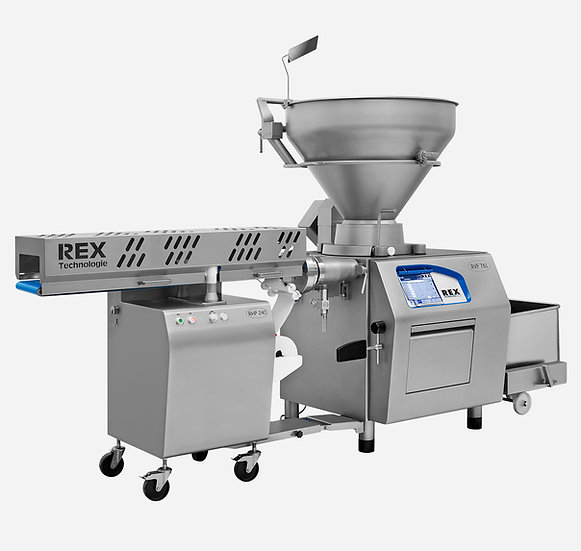 REX MC 3-3 and RHP 240 - Minced Meat Portioning Lines